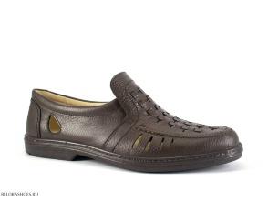 Полуботинки мужские Отико 2043, коричневый