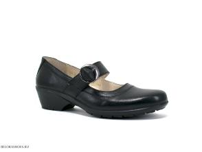 Туфли женские Отико 08001, чёрный