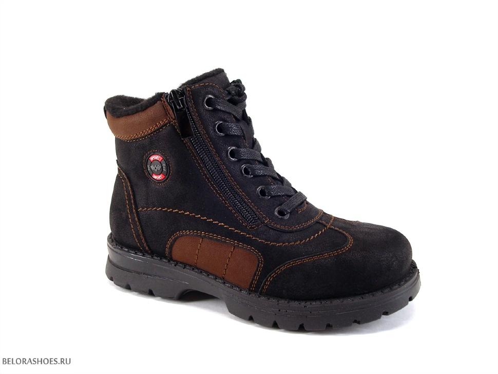 Ботинки школьные Марко 6692