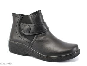 Ботинки женские Росвест 636-2, черный