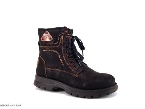 Ботинки школьные Марко 6690, черный
