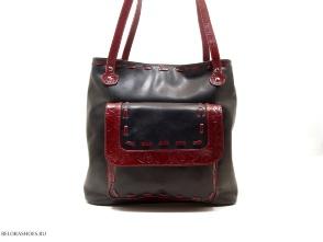 Сумка-рюкзак женская Трио 4