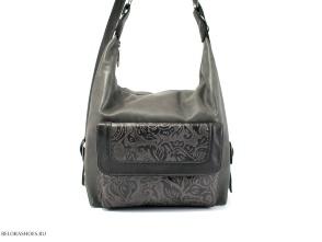 Сумка-рюкзак Маркиза, черный